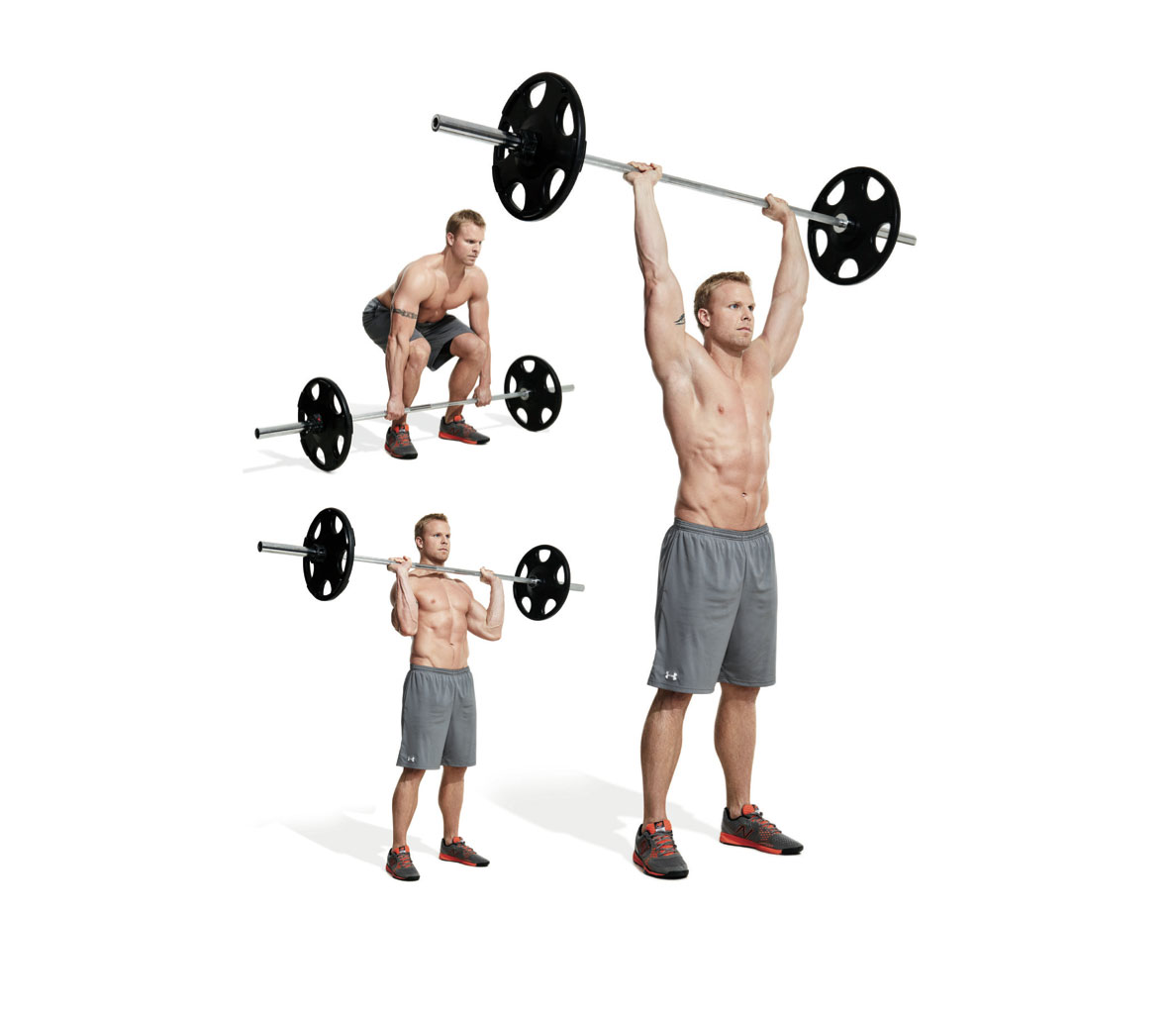 The Best Barbell Only Shoulder Workout