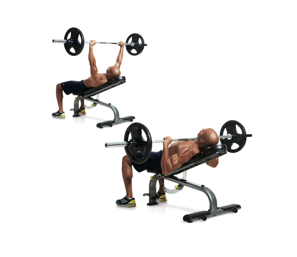 Incline Bench Press for Upper Chest