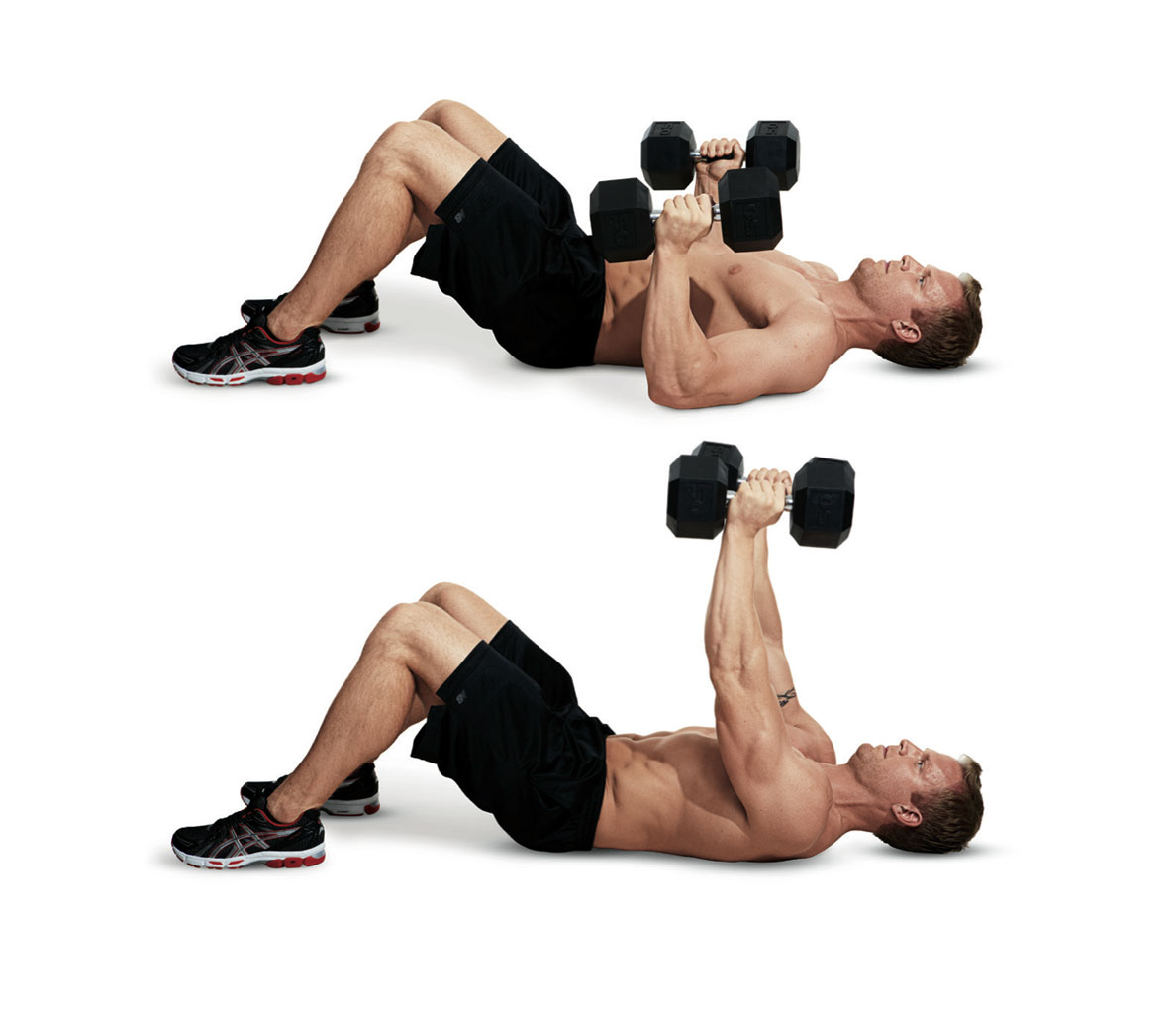 Chest press for muscle growth