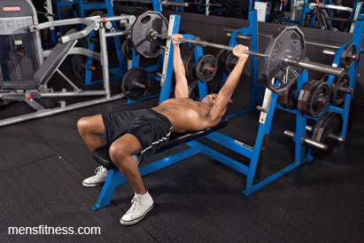 Bench press sets of 3