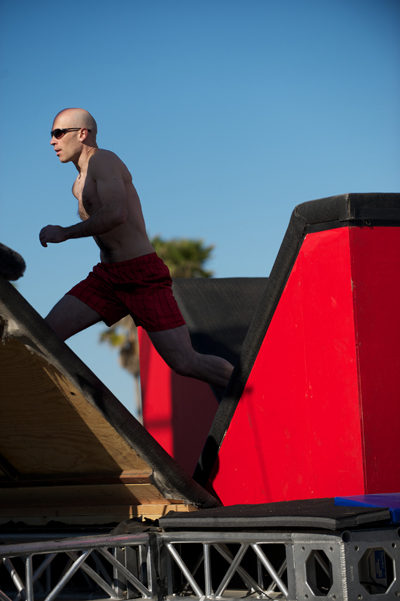 American Ninja Warrior Obstacle Course