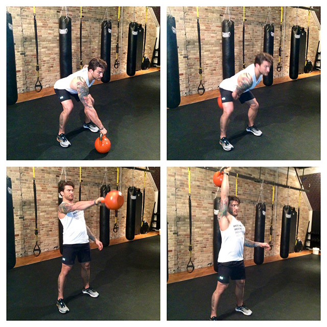 One-Off Workout: 5-Move TRX and Kettlebell Fat Burn Combo ...