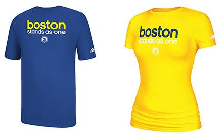 Adidas Boston Stands As One T-Shirts