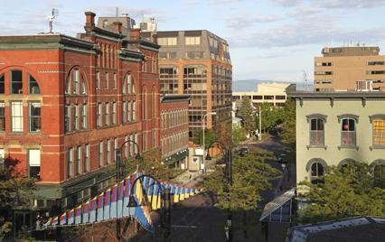burlington vermont college town