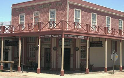 Crystal Palace Tombstone Arizona