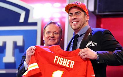 Eric Fisher drafted to Kansas City Chiefs