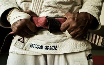 martial arts legend Rickson Gracie