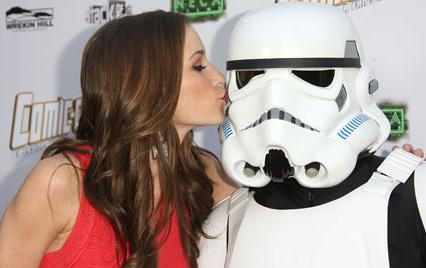 Candace Bailey at Comic-Con