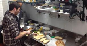 Spencer Rubin in Melt Shop Kitchen