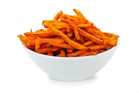 Bowl of sweet potato fries