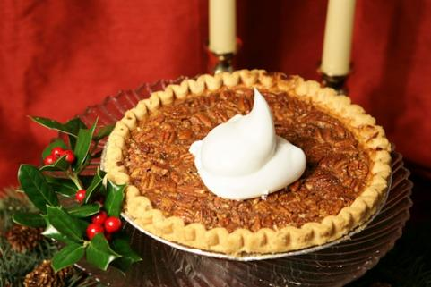 Pecan pie and mistletoe