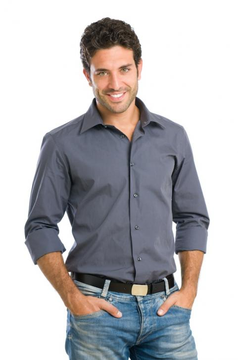 Man in casual clothing