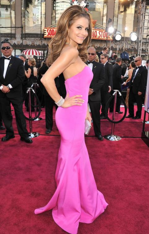 Maria Menounos on the red carpet