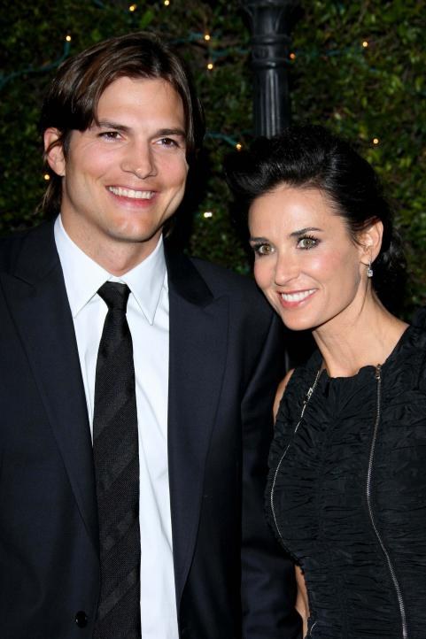 Ashton Kutcher was Assertive with Demi Moore