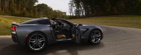 2014 Corvette with door open