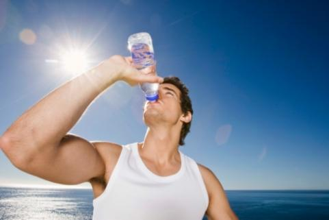 Drinking water helps increase energy levels