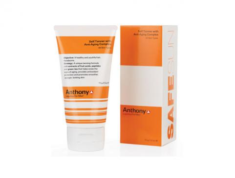 Anthony Logistics for Men Self Tanner With Anti-Aging Complex
