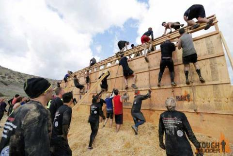 balls to the walls tough mudder obstacle