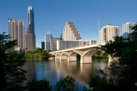 biking in austin, texas