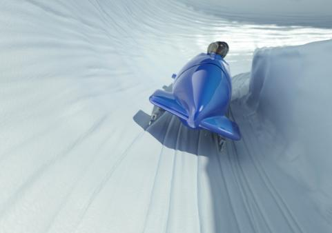 winter bobsled