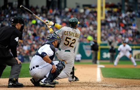 2012 MLB Post-Season: Yoenis Cespedes