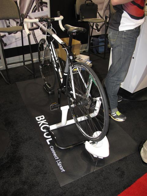 BKOOL Stationary Bike Trainer at CES 2013
