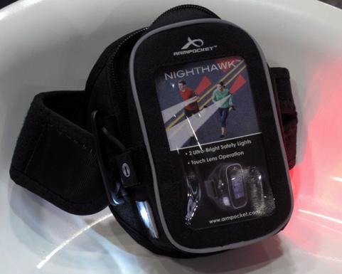 Armpocket Nighthawk armband at CES 2013