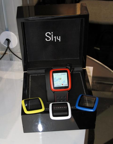 Si14 WearIt Open Sport Watch at CES 2013