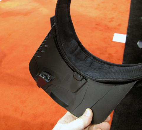 O_Synce Screeneye X Visor at CES 2013