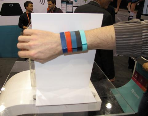 Fitbit Flex Wristband at CES 2013