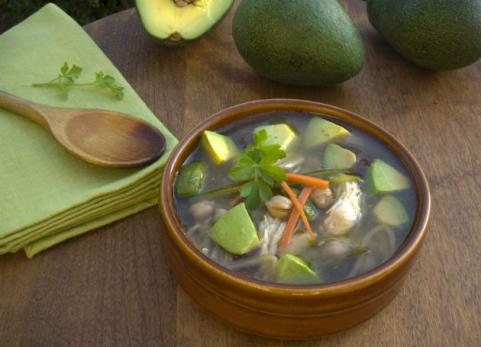 Chicken-Avocado Soup 
