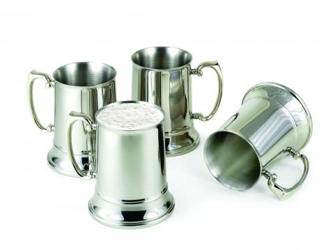 Cold Maintaining Stainless Steel Beer Steins