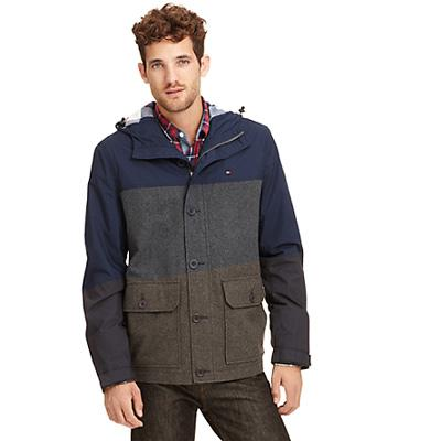 Tommy Hilfiger ColorBlock Hooded Jacket