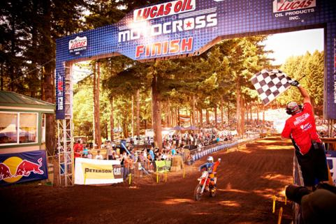 Ryan Dungey Motocross Race