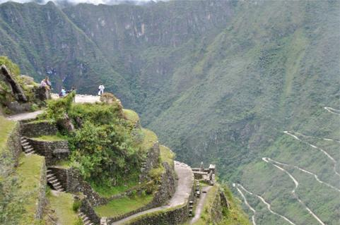 mountain climbing in Peru