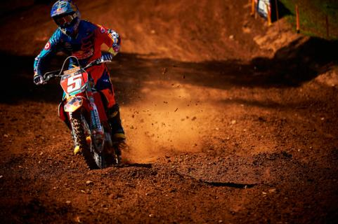 Ryan Dungey on Motocross Track