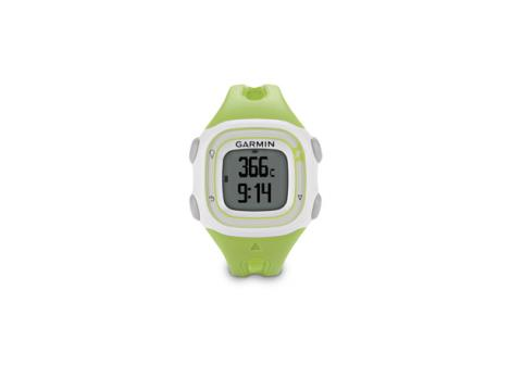 Garmin Forerunner 10 watch on white background
