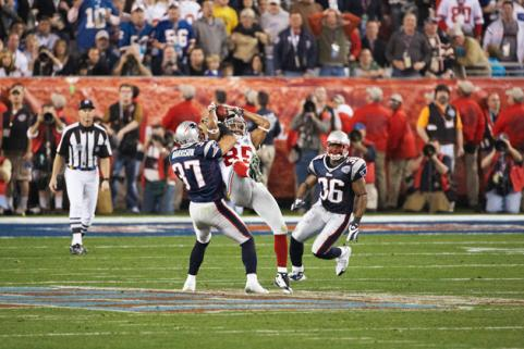 Super Bowl XLII Giants v Patriots