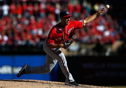 2012 MLB Post-Season: Gio Gonzalez