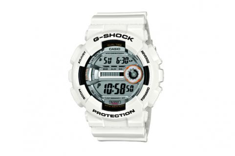 White G-Shock Lap Memory 60 Watch