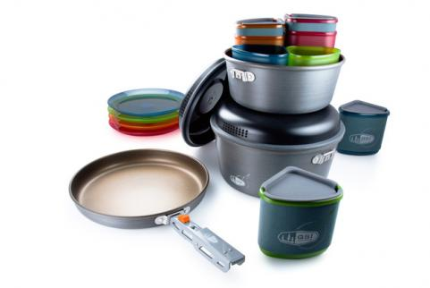GSI Outdoor's Pinnacle Camper cookset