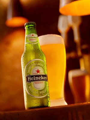 Heineken Pint Glass