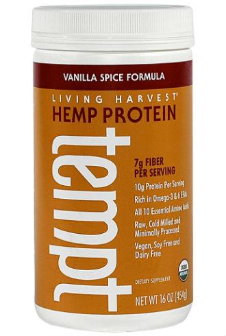 Living Harvest tempt hemp protein powder