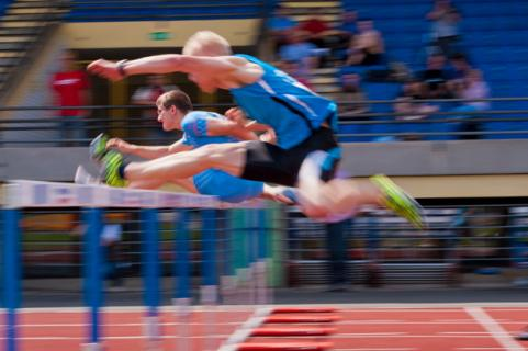 high-hurdles-sports-equipment