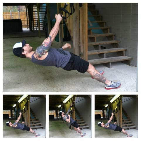 25-Minute Full Body TRX Circuit