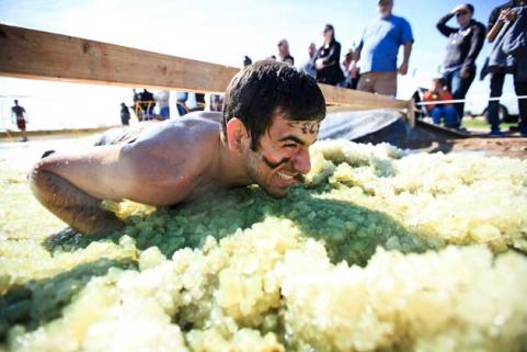 man doing a Tough Mudder