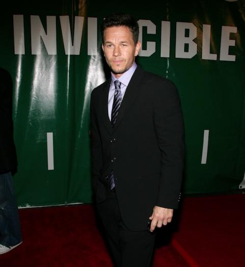 Mark Wahlberg at premiere of Invincible