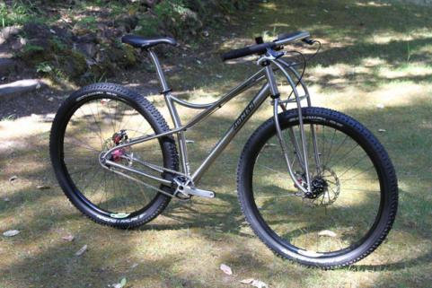 Jones Titanium Spaceframe singlespeed 29er Mountain Bike