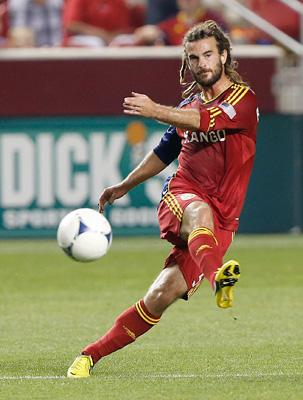 Kyle Beckerman Real Salt Lake Midfielder
