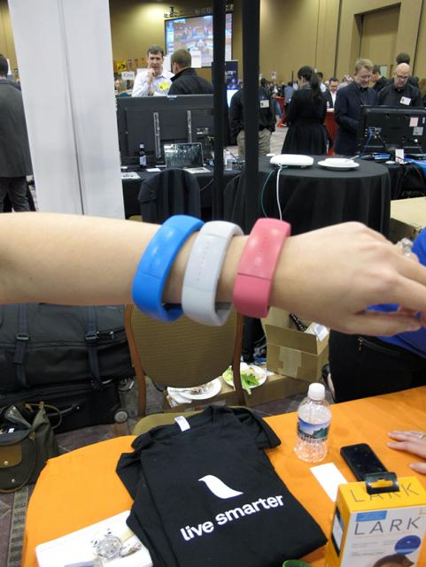 Lark Life Wristband at CES 2013